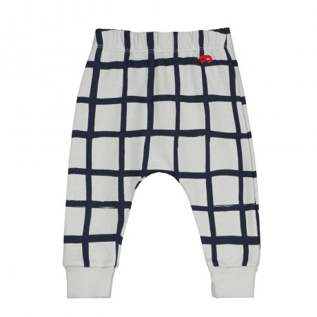 <img class='new_mark_img1' src='https://img.shop-pro.jp/img/new/icons8.gif' style='border:none;display:inline;margin:0px;padding:0px;width:auto;' />BEAU LOVES / Baby Sweat Pants / Grid AOP / Quiet Grey