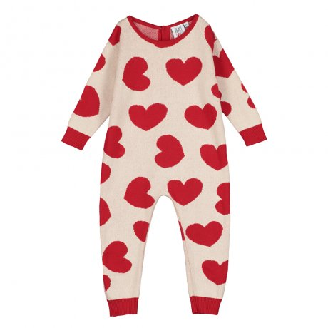 <img class='new_mark_img1' src='https://img.shop-pro.jp/img/new/icons8.gif' style='border:none;display:inline;margin:0px;padding:0px;width:auto;' />BEAU LOVES / Knit Romper / Hearts Jacquard / Natural