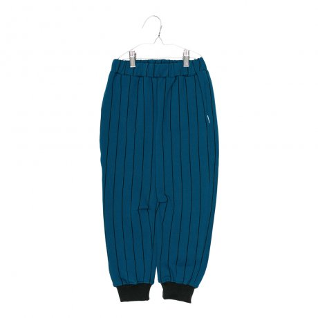 MOTORETA / PARIS PANTS / Blue and black stripes / AW190091