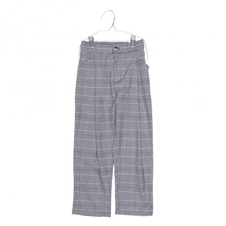 <img class='new_mark_img1' src='https://img.shop-pro.jp/img/new/icons8.gif' style='border:none;display:inline;margin:0px;padding:0px;width:auto;' />MOTORETA / RELAXED PANTS / Black, blue and white chequered / AW190090