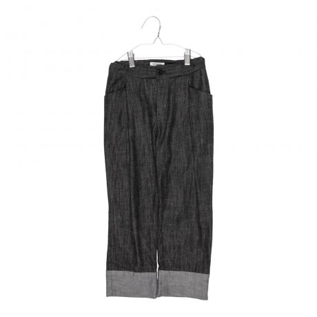 <img class='new_mark_img1' src='https://img.shop-pro.jp/img/new/icons8.gif' style='border:none;display:inline;margin:0px;padding:0px;width:auto;' />MOTORETA / RELAXED PANTS / Black duotone / AW19B087(Baby)