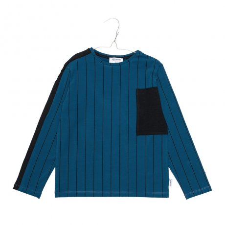 MOTORETA / BERLIN T-SHIRT / Blue and black stripes / AW19B048(Baby)
