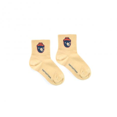 <img class='new_mark_img1' src='https://img.shop-pro.jp/img/new/icons8.gif' style='border:none;display:inline;margin:0px;padding:0px;width:auto;' />tinycottons / BEAR MEDIUM SOCKS / sand true navy / AW19-354