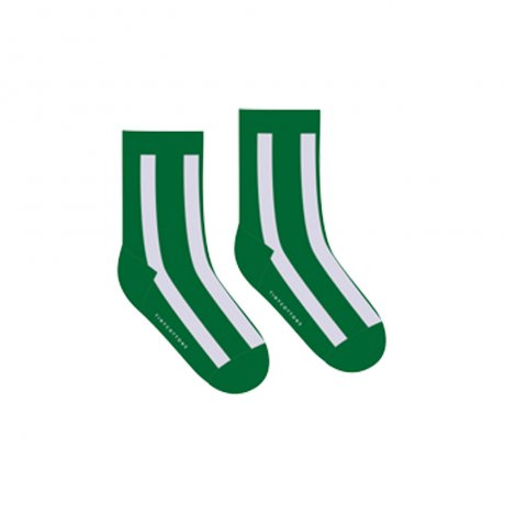 <img class='new_mark_img1' src='https://img.shop-pro.jp/img/new/icons8.gif' style='border:none;display:inline;margin:0px;padding:0px;width:auto;' />tinycottons / FLUFFY STRIPE MEDIUM SOCKS / deep green light lilac / AW19-345