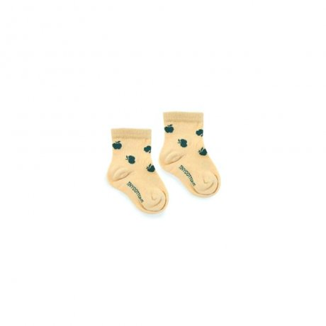 <img class='new_mark_img1' src='https://img.shop-pro.jp/img/new/icons8.gif' style='border:none;display:inline;margin:0px;padding:0px;width:auto;' />tinycottons / APPLES QUARTER SOCKS / sand bottle green / AW19-340