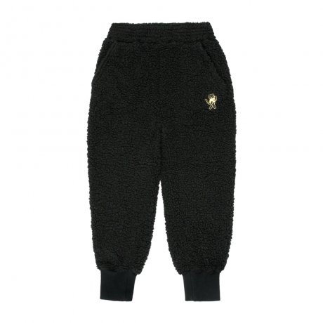 tinycottons / CAT SWEATPANT / black sand / AW19-149