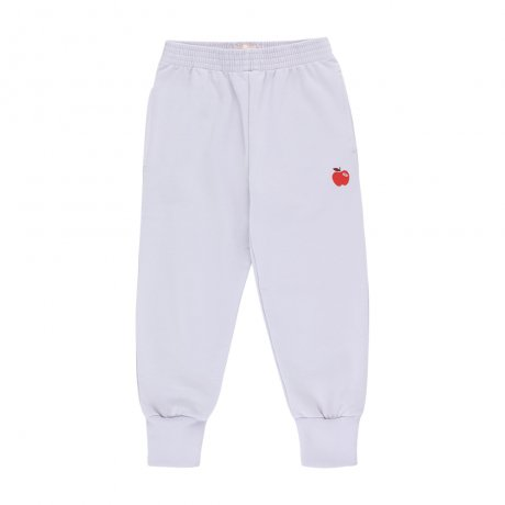 tinycottons / APPLE SWEATPANT / light lilac burgundy / AW19-122