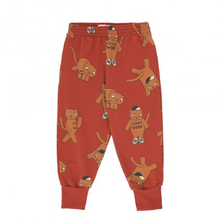 tinycottons / CATS SWEATPANT / dark brown brown / AW19-094