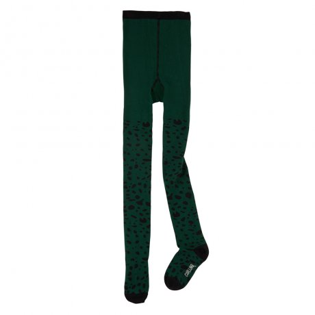<img class='new_mark_img1' src='https://img.shop-pro.jp/img/new/icons8.gif' style='border:none;display:inline;margin:0px;padding:0px;width:auto;' />CarlijnQ / tights (green) / Spotted animal / TI126