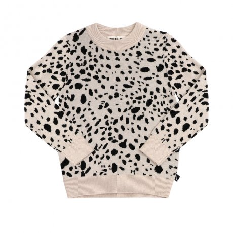 <img class='new_mark_img1' src='https://img.shop-pro.jp/img/new/icons8.gif' style='border:none;display:inline;margin:0px;padding:0px;width:auto;' />CarlijnQ / sweater (knitted) / Spotted animal / SA51