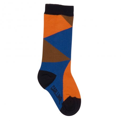 <img class='new_mark_img1' src='https://img.shop-pro.jp/img/new/icons8.gif' style='border:none;display:inline;margin:0px;padding:0px;width:auto;' />CarlijnQ / knee socks / Color blocks / KS121