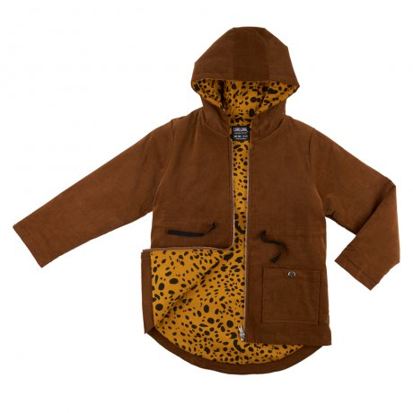 <img class='new_mark_img1' src='https://img.shop-pro.jp/img/new/icons8.gif' style='border:none;display:inline;margin:0px;padding:0px;width:auto;' />CarlijnQ / Corduroy Parka (lined with spotted animal) / - / BL34