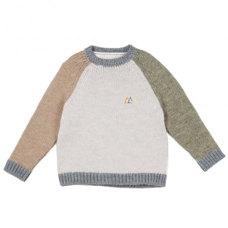 <img class='new_mark_img1' src='https://img.shop-pro.jp/img/new/icons8.gif' style='border:none;display:inline;margin:0px;padding:0px;width:auto;' />THE CAMPAMENTO / COLOR BLOCK KNITTED SWEATER / TC-AW20