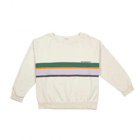 <img class='new_mark_img1' src='https://img.shop-pro.jp/img/new/icons8.gif' style='border:none;display:inline;margin:0px;padding:0px;width:auto;' />THE CAMPAMENTO / COLORFUL LINES SWEATSHIRT / TC-AW16