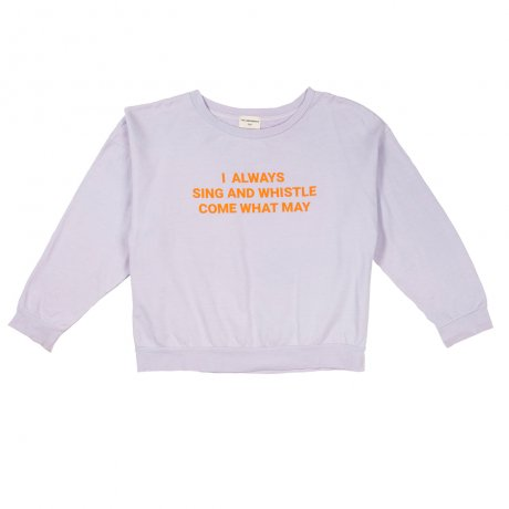 <img class='new_mark_img1' src='https://img.shop-pro.jp/img/new/icons8.gif' style='border:none;display:inline;margin:0px;padding:0px;width:auto;' />THE CAMPAMENTO / PURPLE SING AND WHISTLE SWEATSHIRT / TC-AW14