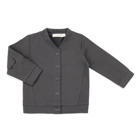 Phil&Phae / Basic baby sweat cardigan / 663195 / Graphite