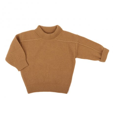 Phil&Phae / Woolblend oversized knit sweater ADULT / 193692 / Gold ochre