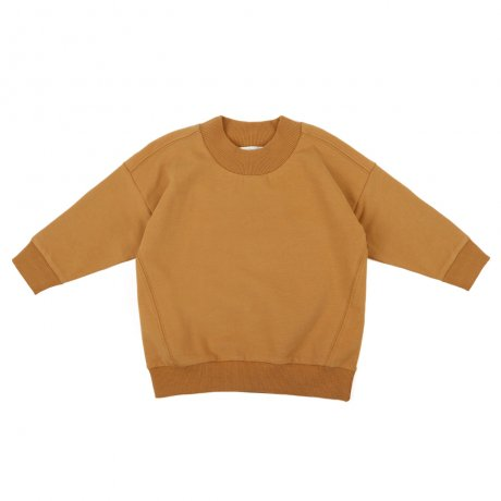 <img class='new_mark_img1' src='https://img.shop-pro.jp/img/new/icons8.gif' style='border:none;display:inline;margin:0px;padding:0px;width:auto;' />Phil&Phae / Oversized rib-neck sweater / 193112 / Gold ochre