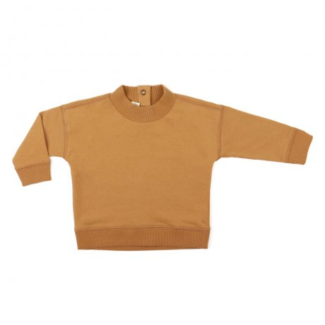 <img class='new_mark_img1' src='https://img.shop-pro.jp/img/new/icons8.gif' style='border:none;display:inline;margin:0px;padding:0px;width:auto;' />Phil&Phae / Baby rib-neck sweater / 193192 / Gold ochre