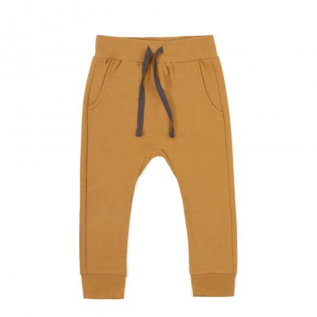 <img class='new_mark_img1' src='https://img.shop-pro.jp/img/new/icons8.gif' style='border:none;display:inline;margin:0px;padding:0px;width:auto;' />Phil&Phae / Drop-crotch sweat pants / 193208 / Gold ochre
