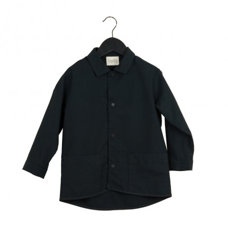 <img class='new_mark_img1' src='https://img.shop-pro.jp/img/new/icons8.gif' style='border:none;display:inline;margin:0px;padding:0px;width:auto;' />popelin / shirt with pockets / Black / Mod.13.5