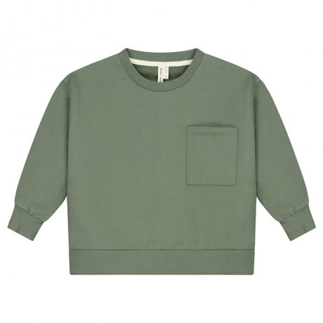 GRAY LABEL / Kids / Boxy Sweater / Moss