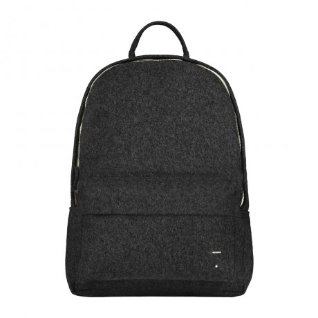 GRAY LABEL / Felt Backpack Small / Nearly Black