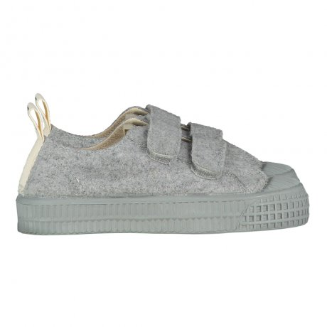 GRAY LABEL / GL x Novesta - Low Top Velcro / Grey Melange