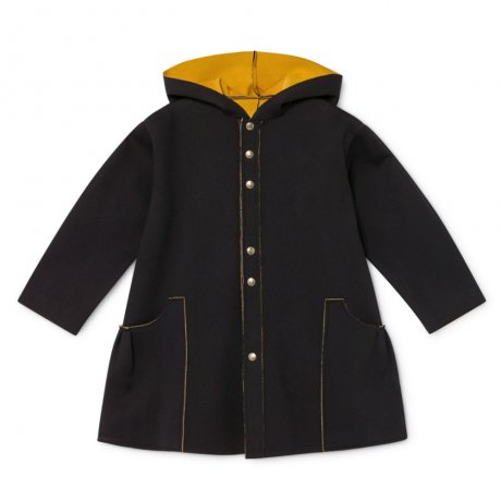 <img class='new_mark_img1' src='https://img.shop-pro.jp/img/new/icons8.gif' style='border:none;display:inline;margin:0px;padding:0px;width:auto;' />little creative factory / Neoprene Jacket / Black / K016