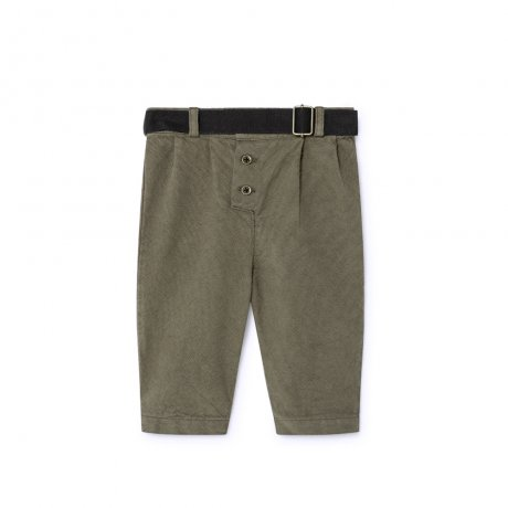 <img class='new_mark_img1' src='https://img.shop-pro.jp/img/new/icons8.gif' style='border:none;display:inline;margin:0px;padding:0px;width:auto;' />little creative factory / Baby Work Pants / Dark Green / B030B