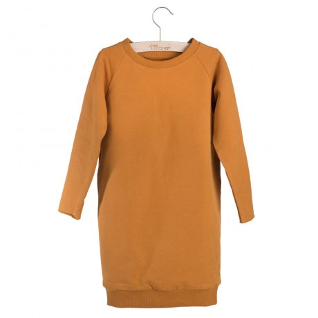 little HEDONIST / Sweatdress Ruth / Pumpkin Spice