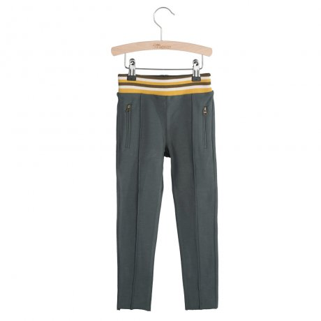 little HEDONIST / Track Pants Marley / Pirate Black