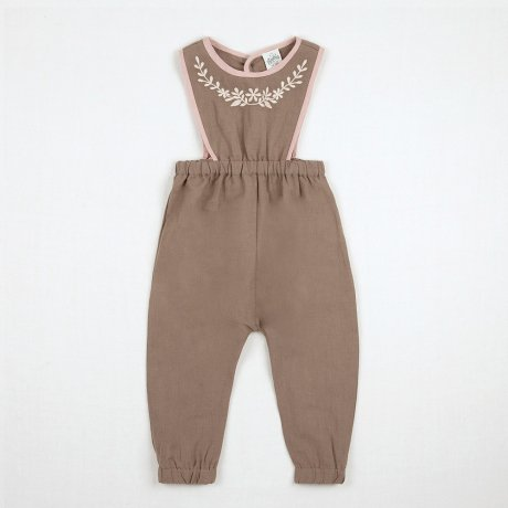<img class='new_mark_img1' src='https://img.shop-pro.jp/img/new/icons8.gif' style='border:none;display:inline;margin:0px;padding:0px;width:auto;' />Apolina Kids / Baby / BOBBIE DUNGAREE / FAWN