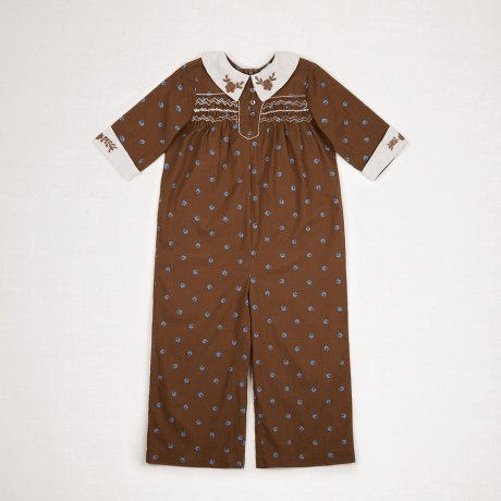 <img class='new_mark_img1' src='https://img.shop-pro.jp/img/new/icons8.gif' style='border:none;display:inline;margin:0px;padding:0px;width:auto;' />Apolina Kids / Kids / MINNIE JUMPSUIT / BLUEGRASS