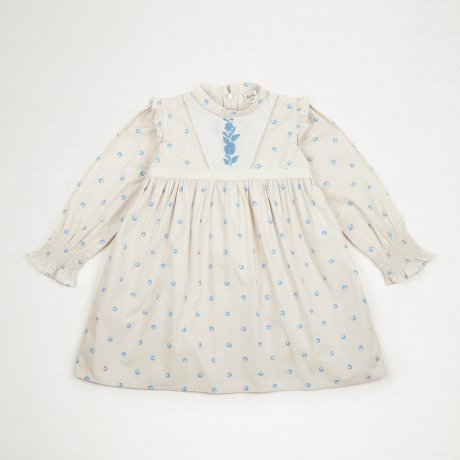<img class='new_mark_img1' src='https://img.shop-pro.jp/img/new/icons8.gif' style='border:none;display:inline;margin:0px;padding:0px;width:auto;' />Apolina Kids / Kids / JANIS DRESS / BLUEGRASS PRINT