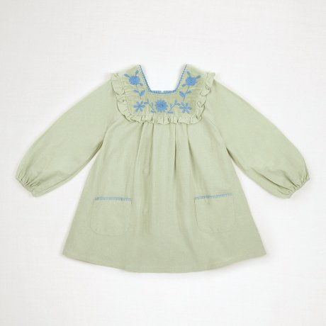 <img class='new_mark_img1' src='https://img.shop-pro.jp/img/new/icons8.gif' style='border:none;display:inline;margin:0px;padding:0px;width:auto;' />Apolina Kids / Kids / JOSEPHINE DRESS / ALPINE