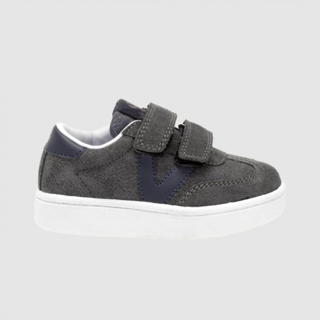 <img class='new_mark_img1' src='https://img.shop-pro.jp/img/new/icons8.gif' style='border:none;display:inline;margin:0px;padding:0px;width:auto;' />victoria / MILLAS VICTORIA SUEDE TRAINERS / gris