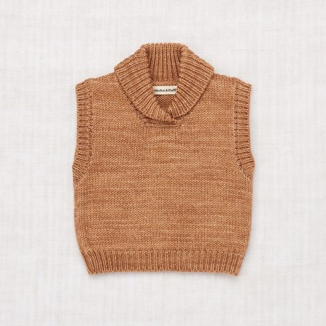 <img class='new_mark_img1' src='https://img.shop-pro.jp/img/new/icons8.gif' style='border:none;display:inline;margin:0px;padding:0px;width:auto;' />Misha&Puff / SCHOOLHOUSE VEST / Rose Gold / MNPG0743-680
