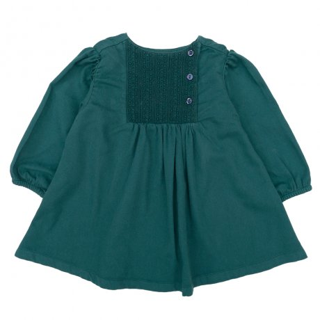 <img class='new_mark_img1' src='https://img.shop-pro.jp/img/new/icons8.gif' style='border:none;display:inline;margin:0px;padding:0px;width:auto;' />Omibia / KIDS KYOTO Dress / Aqua Green / AW19W19