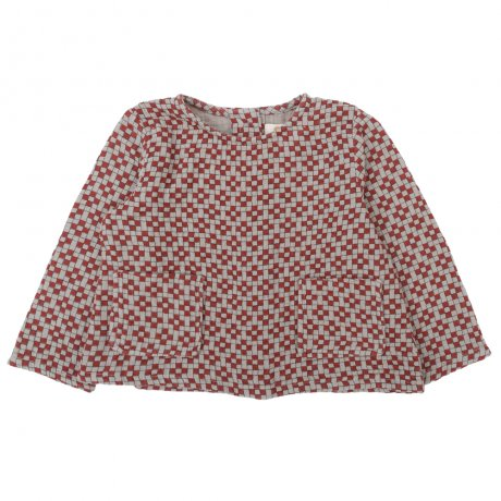 Omibia / BABY BAILEY Top / Seal Grey + Cubic / AW19W03