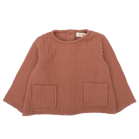 Omibia / KIDS BAILEY Top / Cayenne / AW19W03