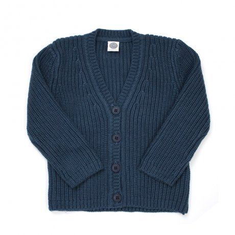 <img class='new_mark_img1' src='https://img.shop-pro.jp/img/new/icons8.gif' style='border:none;display:inline;margin:0px;padding:0px;width:auto;' />[NEW] Le Petit Germain / Leo Cardigan / INDIGO