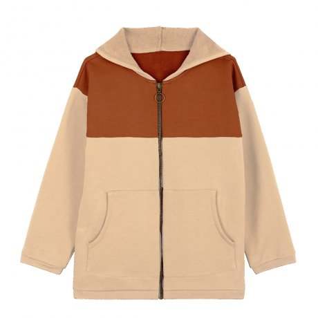 Le Petit Germain / Hoodie / RUST / POWDER