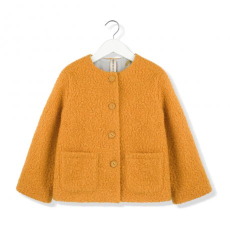 <img class='new_mark_img1' src='https://img.shop-pro.jp/img/new/icons8.gif' style='border:none;display:inline;margin:0px;padding:0px;width:auto;' />KIDS ON THE MOON / MUSTARD MOSS JACKET / AW19/33A