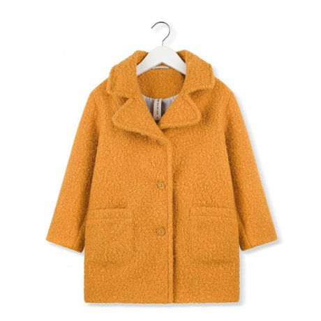 <img class='new_mark_img1' src='https://img.shop-pro.jp/img/new/icons8.gif' style='border:none;display:inline;margin:0px;padding:0px;width:auto;' />KIDS ON THE MOON / MUSTARD MOSS COAT / AW19/51A