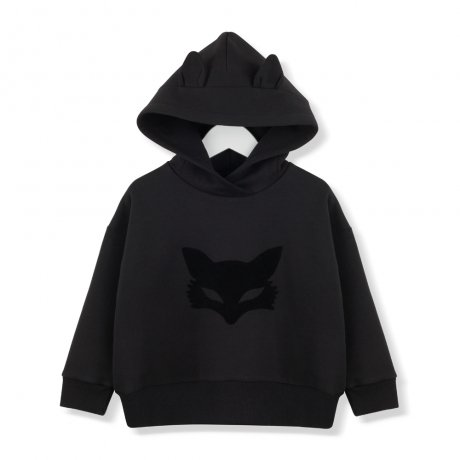 <img class='new_mark_img1' src='https://img.shop-pro.jp/img/new/icons8.gif' style='border:none;display:inline;margin:0px;padding:0px;width:auto;' />KIDS ON THE MOON / BLACK FOX MASK HOODIE / AW19/40