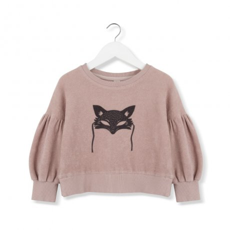 <img class='new_mark_img1' src='https://img.shop-pro.jp/img/new/icons8.gif' style='border:none;display:inline;margin:0px;padding:0px;width:auto;' />KIDS ON THE MOON / BLACK FOX MASK SWEATSHIRT / AW19/39A