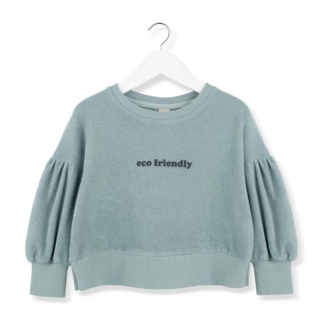 <img class='new_mark_img1' src='https://img.shop-pro.jp/img/new/icons8.gif' style='border:none;display:inline;margin:0px;padding:0px;width:auto;' />KIDS ON THE MOON / ECO FRIENDLY SWEATSHIRT / AW19/39