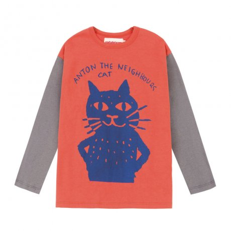 Nadadelazos / T-SHIRT CAT / STOP RED / AW19 TSH.13.500 CAT