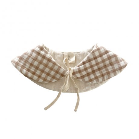 Liilu / Quilted Collar / Check